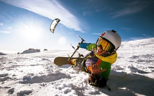 Ski-kite : ce qu'il faut savoir pour débuter !