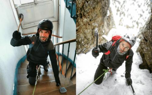French Adventurer - Retour sur son ascension du Mont Blanc... Dans son immeuble !