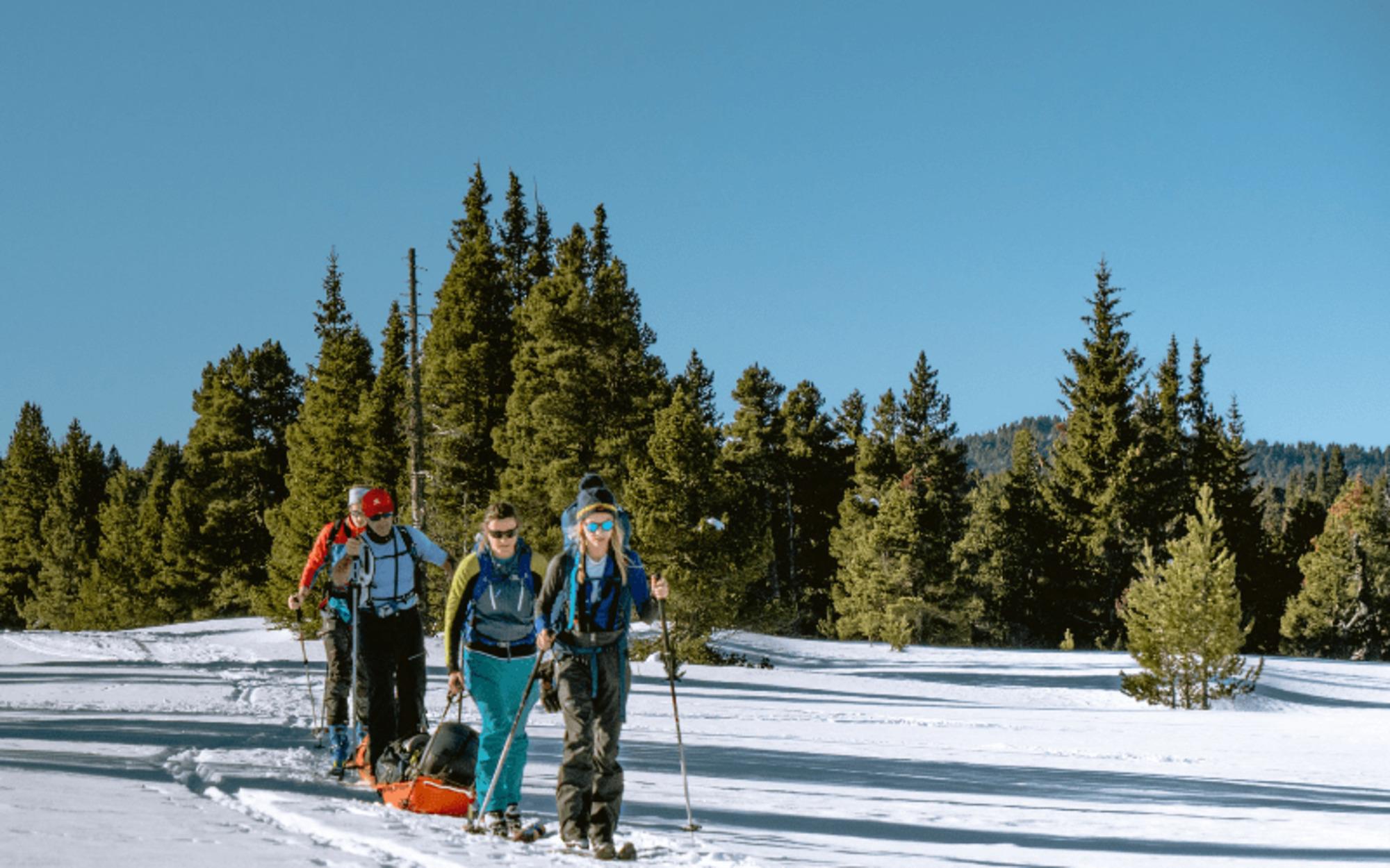 Récit d'aventure : 4 jours en ski- pulka pour explorer le Vercors façon expédition polaire !
